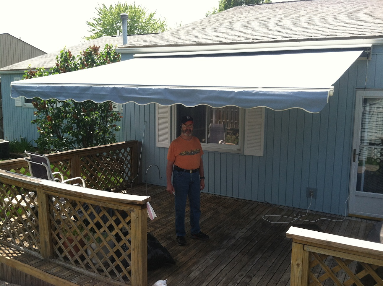 A SunSetter Awning Lets You Outsmart The Weather Save Energy And Cut Costs It Transforms Your Deck Or Patio Into Beautiful Semi Permanent